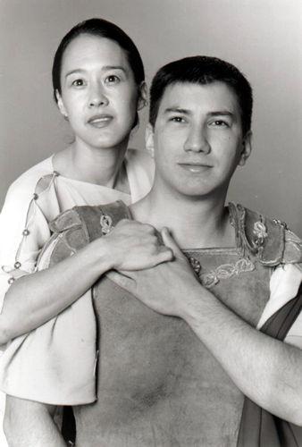 Joel Carino and Michi Barall