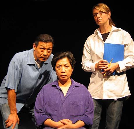 James Saito, Mia Katigbak and Nadia Bowers