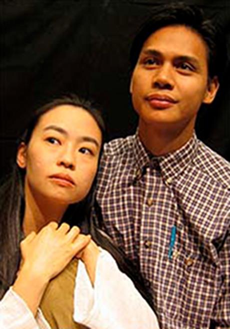 Eunice Wong and Alexis Camins